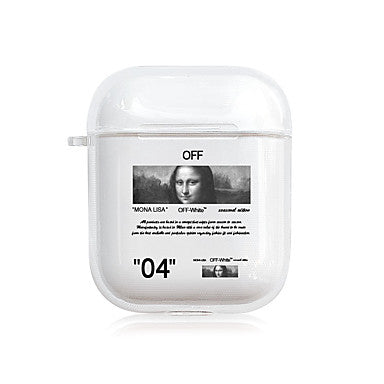 coque pour airpods off white