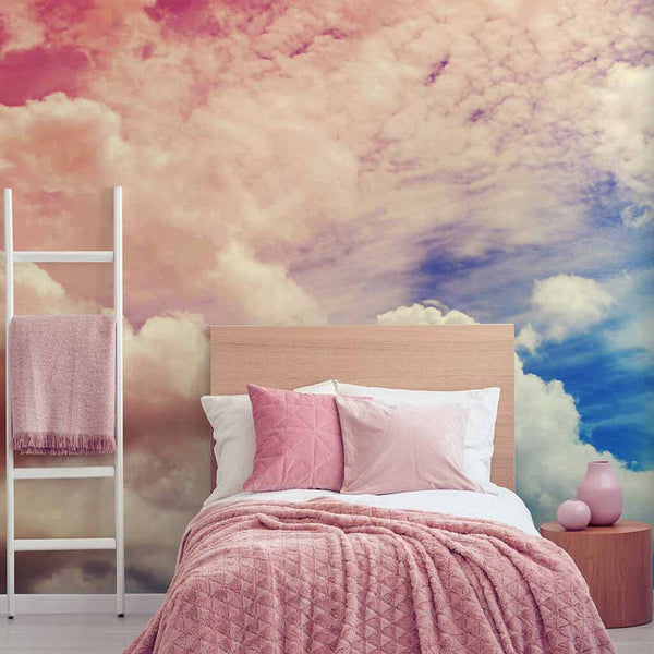 Papel Tapiz Decora Pro  - Superfresco -Colección Individual Kids - Mural Ombre Cloud 111395