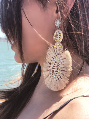 Palma Iraca Earrings