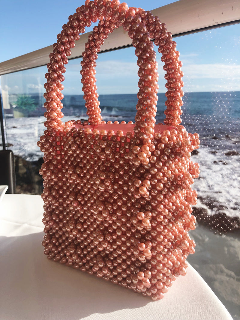 Pearl Embellished - Beaded Bag