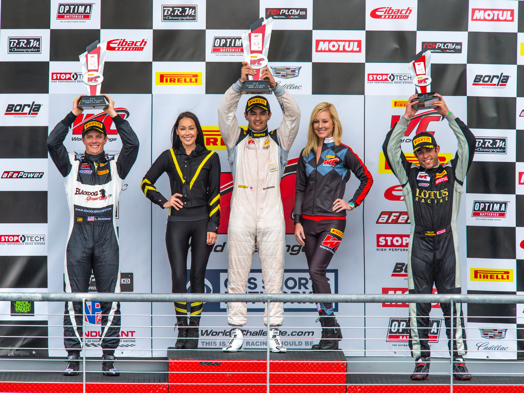 SANDBERG WINS FIRST PIRELLI WORLD CHALLENGE GTS RACE FOR ANSA MOTORSPORTS
