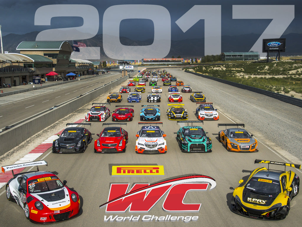 PIRELLI WORLD CHALLENGE ANNOUNCES 2017 DATES AND CLASSES