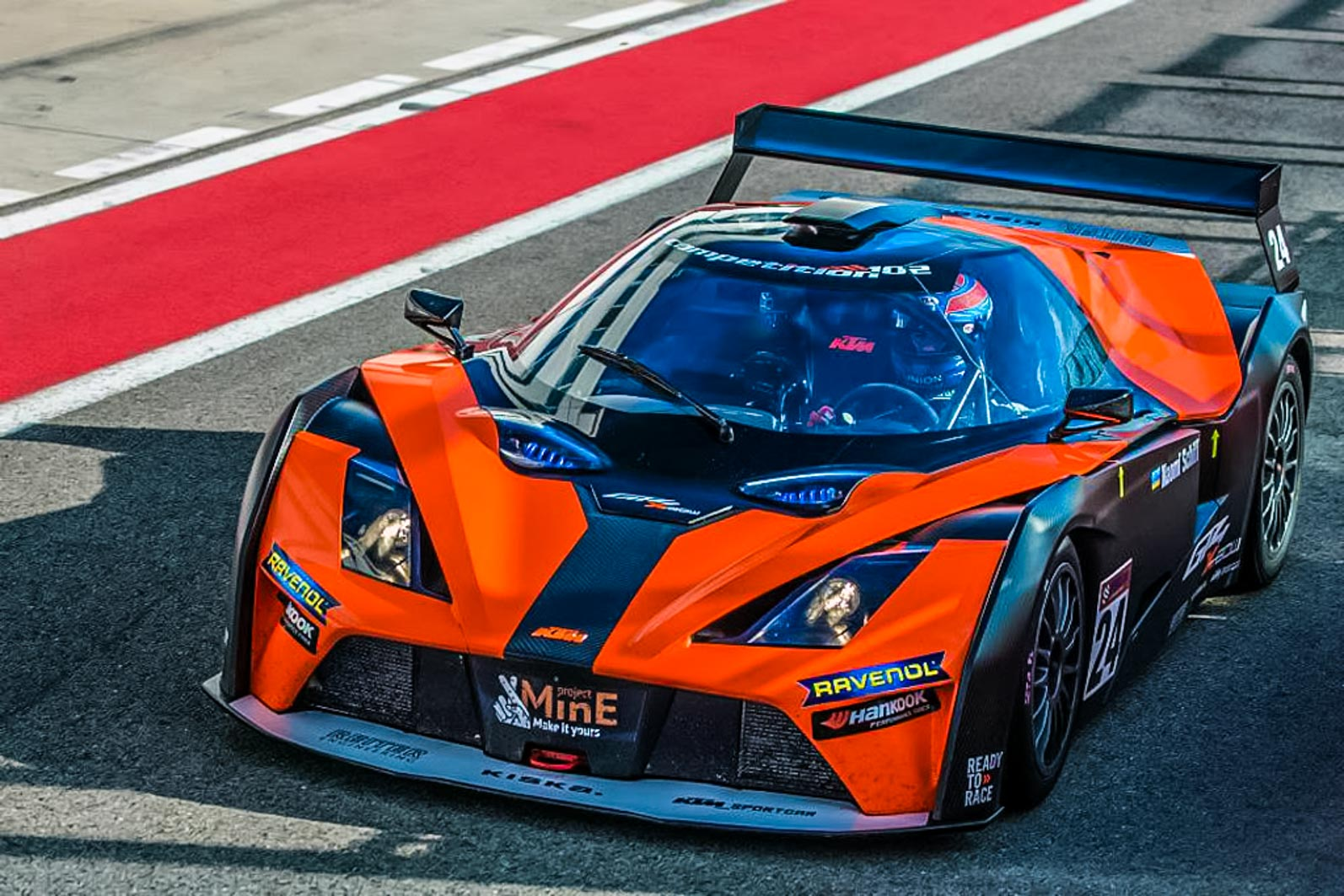ANSA LOOKING TO RACE THE NEW KTM X-BOW GT4