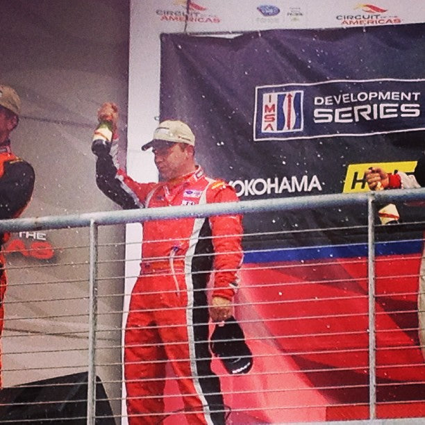 2nd podium for the weekend for Patrick and #ansamotorsports