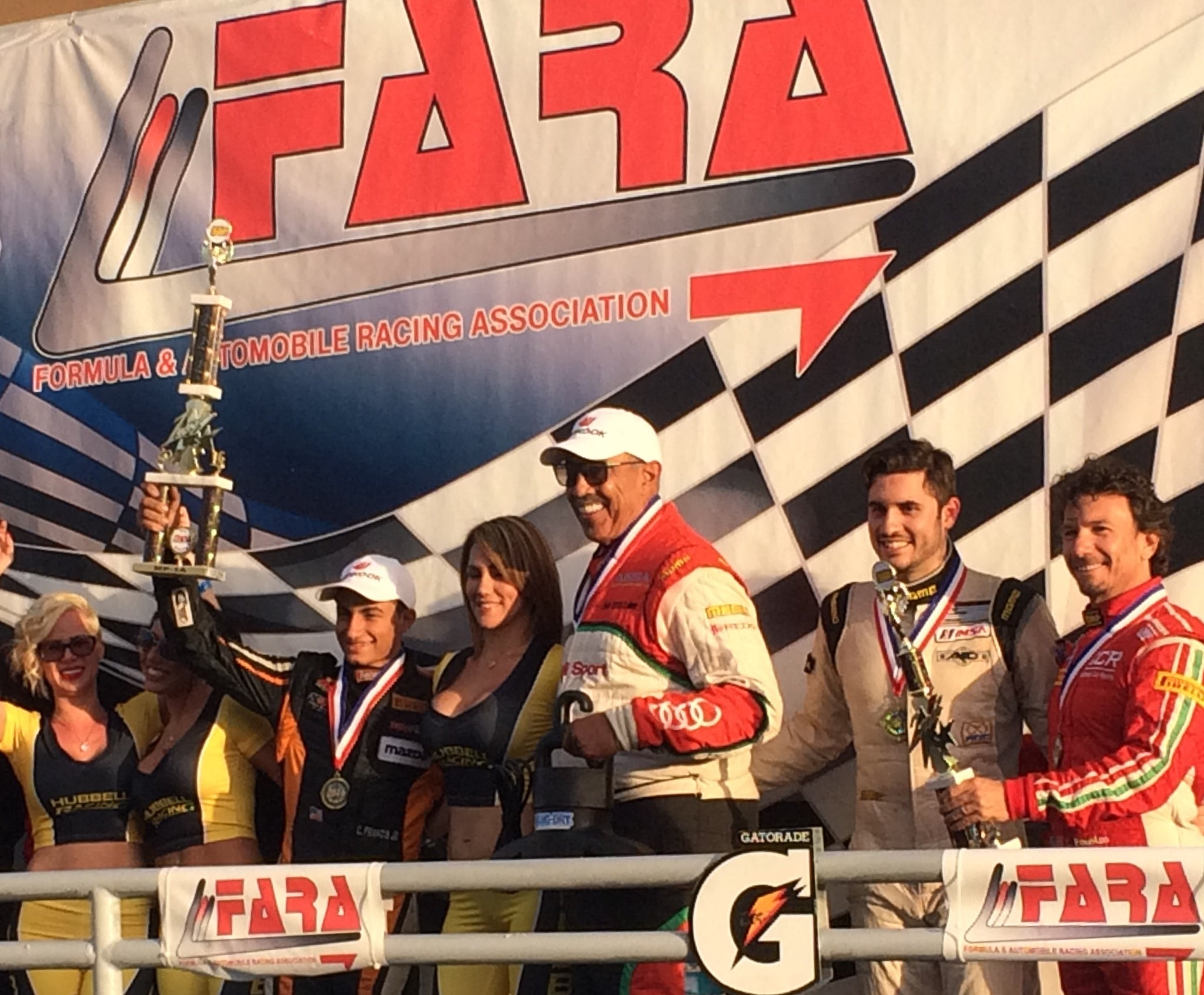 ANSA MOTORSPORTS DRIVERS WIN FARA HOMESTEAD 500!