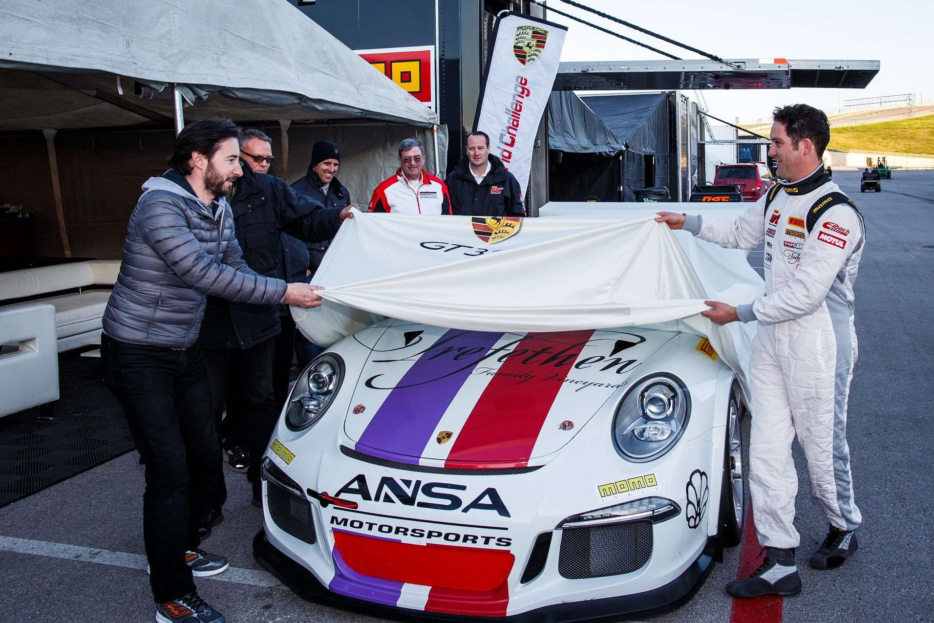 ANSA MOTORSPORTS READY FOR PIRELLI WORLD CHALLENGE DEBUT