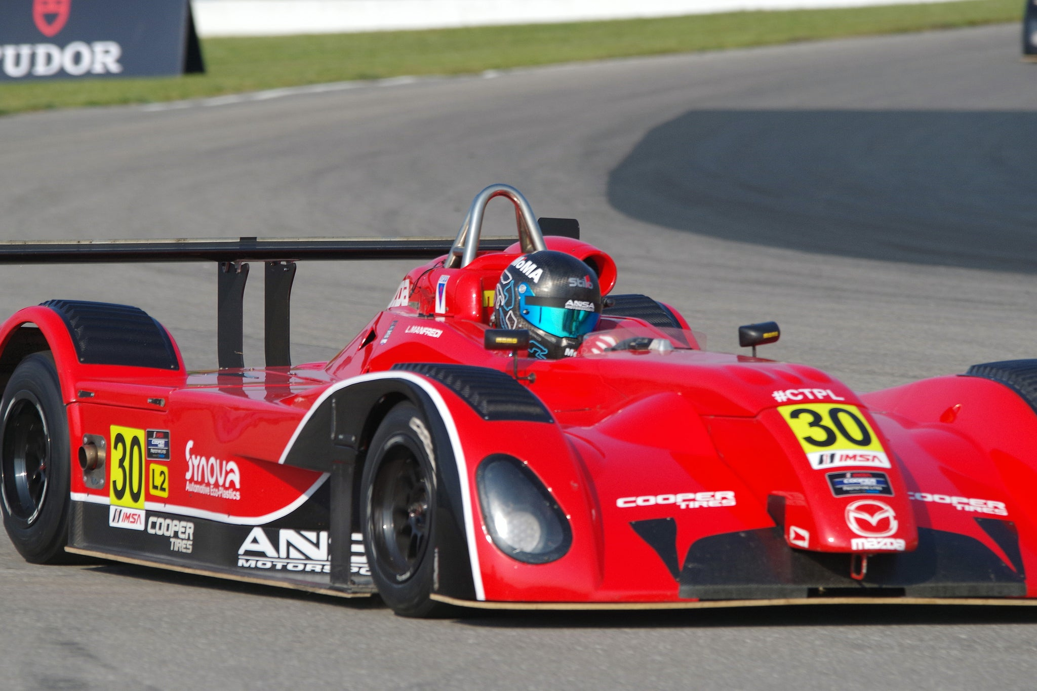 ANSA RACER LUDOVICO MANFREDI LOOKING FOR ANOTHER STRONG RESULT AT ROAD AMERICA