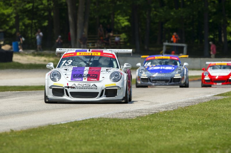 BACK-TO-BACK, TOP-FIVE FINISHES FOR TREFETHEN AND ANSA AT ROAD AMERICA
