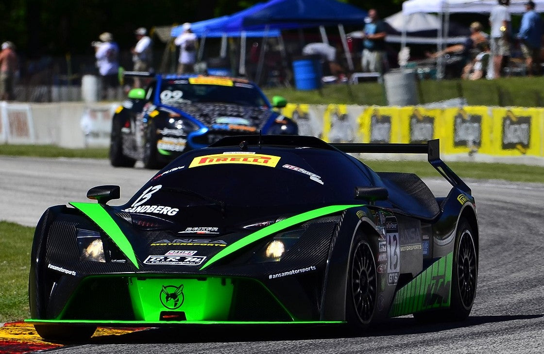 ANSA'S SANDBERG AND ZIEGLER READY TO SHINE AT MID-OHIO