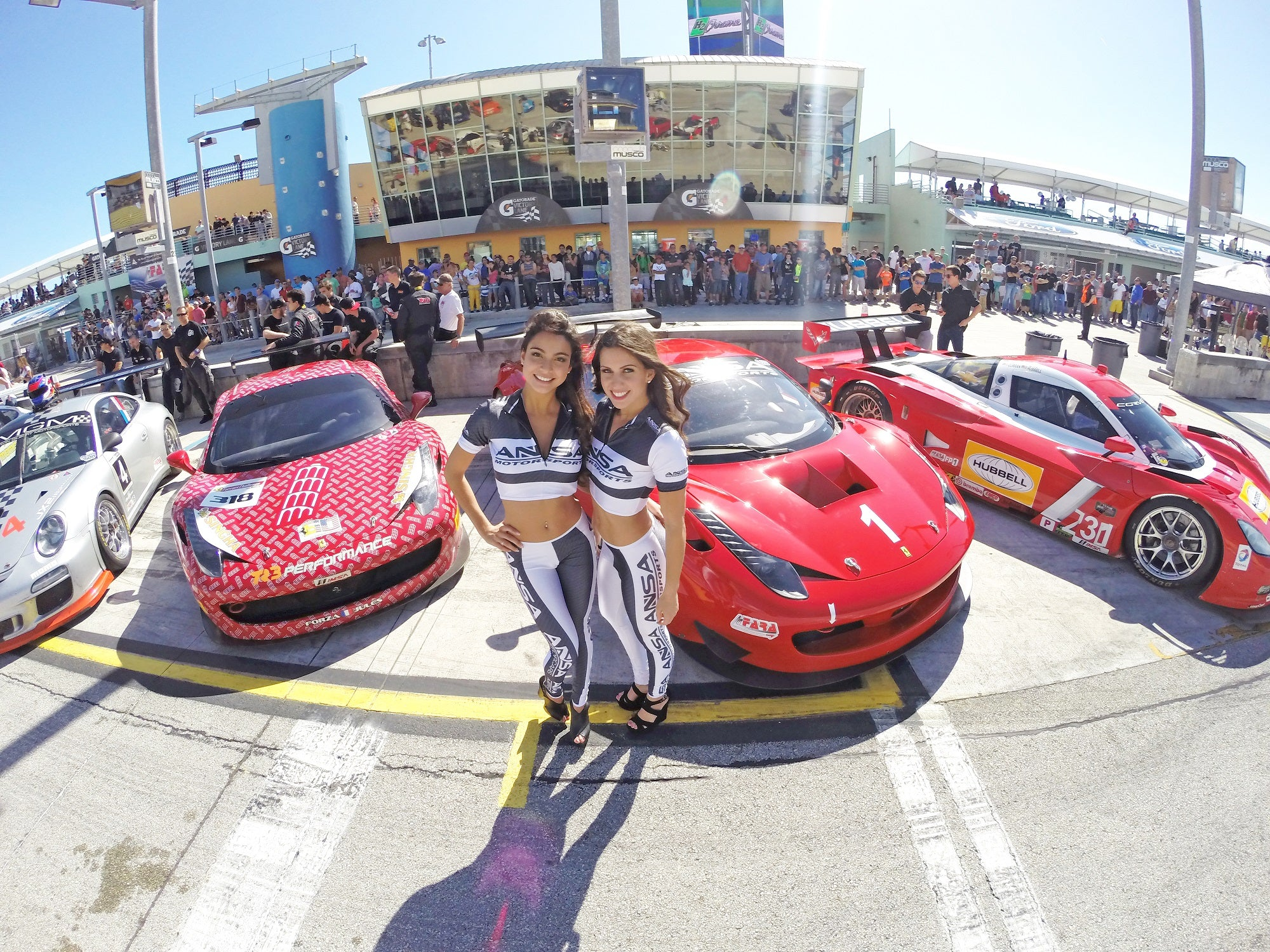 ANSA MOTORSPORTS WINS 2014 MIAMI 500 WITH FERRARI!