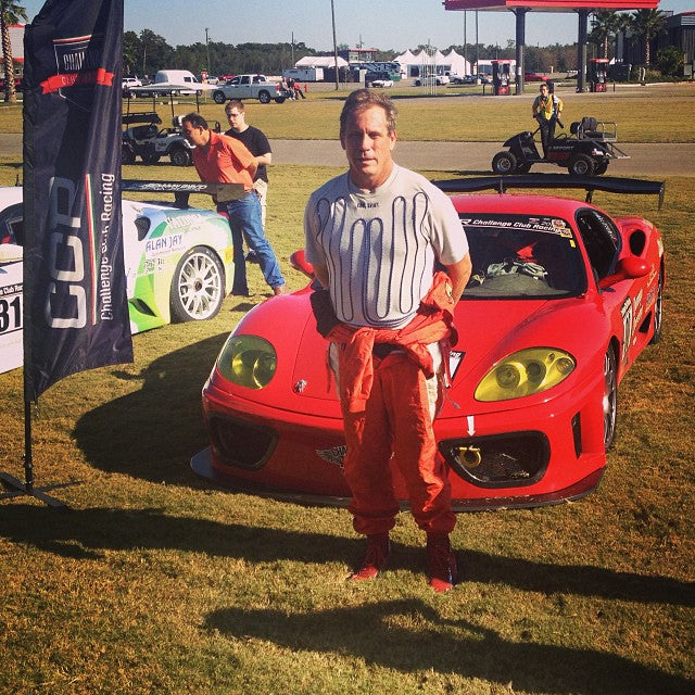 Great day for #ansamotorsports and John Herlihy 1st in class and 5th overall at Ferrari Nola