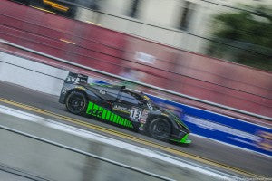 St. Petersburg, FL - Mar 10, 2016: The g takes to the track on Pirelli tires during the Grand Prix of St. Petersburg at the Grand Prix of St. Petersburg in St. Petersburg, FL for the first event in the 2016 Pirelli World Challenge.