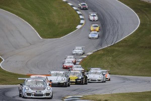 Porsche GT3 Cup Challenge by Yokohama at Road Atlanta- Race 1 Start