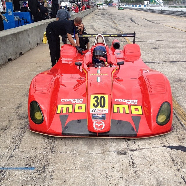 #ansamotorsports #momo at sebring for the first race of the season