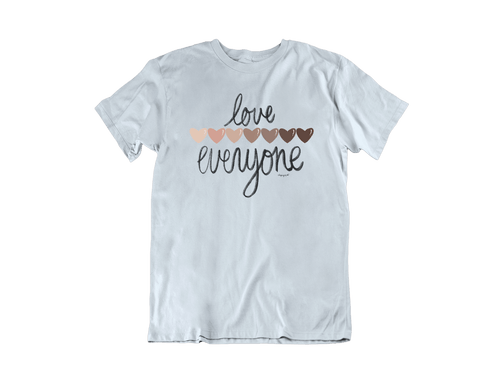 Love Everyone (Hearts) -- T-Shirt
