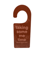 Load image into Gallery viewer, Ready To Chat / Taking Some Me Time -- Door Hanger