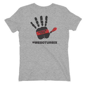 Red Line #WEGOTURSIX T-Shirt