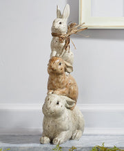 3 Rabbits Tower Statue