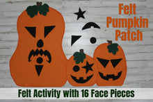 Felt PUMPKIN PATCH Activity