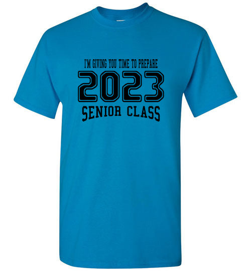 Senior Class of 2023 8th Grade T-shirt (6 Color Choices)