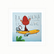 Banana Republic by David Kuijers Limited Edition Print Art with Matboard