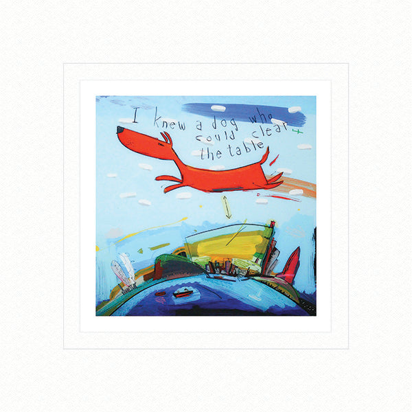 David Kuijers :Flying Dog (Limited Edition Print)