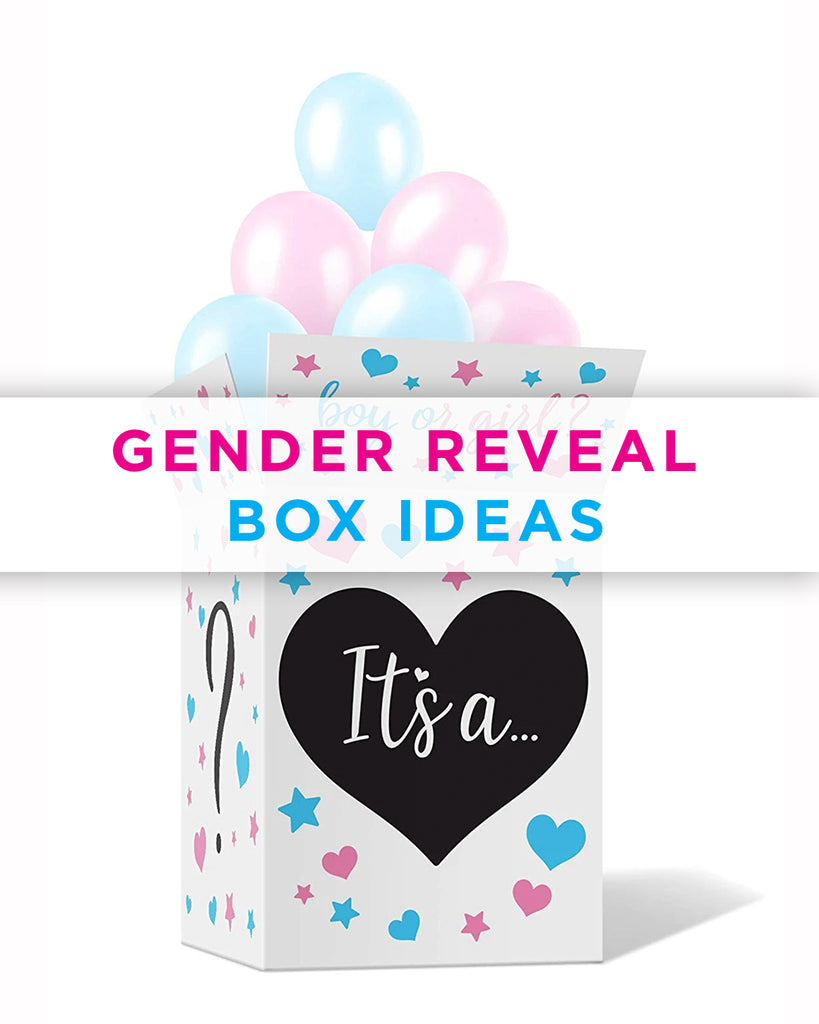 Gender Reveal Box Ideas