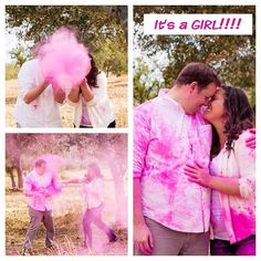 Powder Cannons Gender Reveal