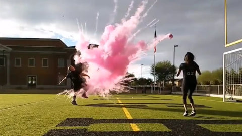 Soccer Gender Reveal Surprise