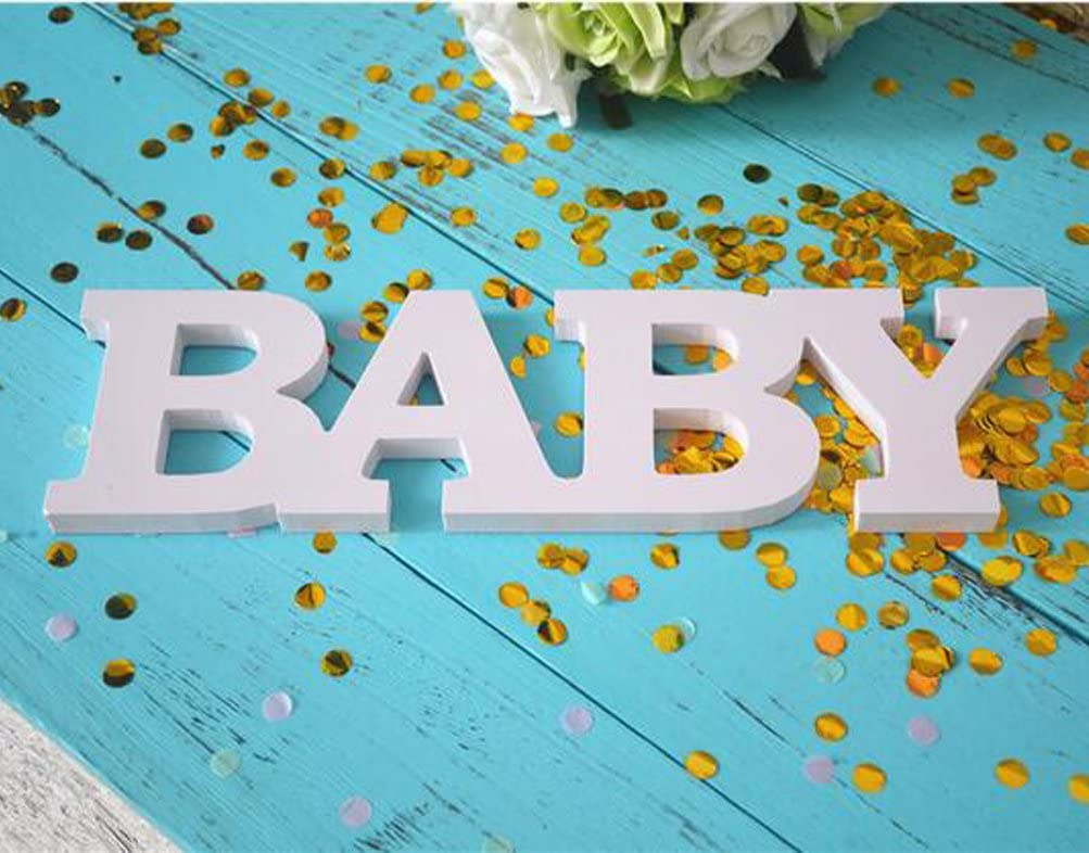 Wooden Baby Shower Sign For Gender Reveal