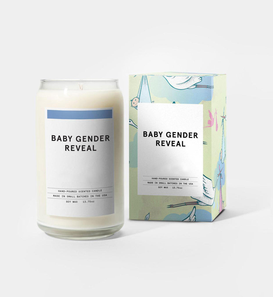 Gender Reveal Smoke Candle