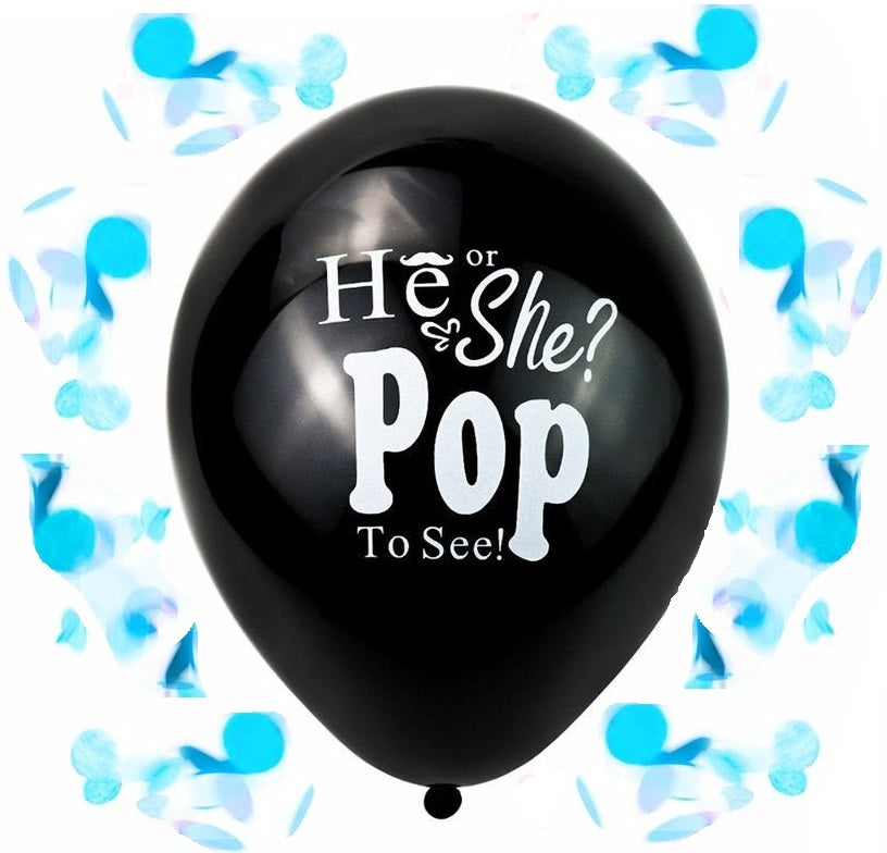 Boy Gender Reveal Balloons