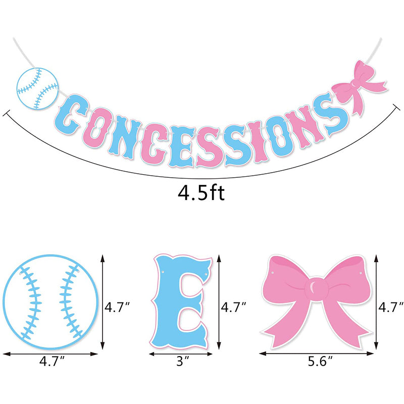 Concession Gender Reveal Party
