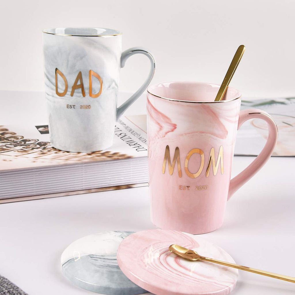 Best Est Mom and Dad Mugs