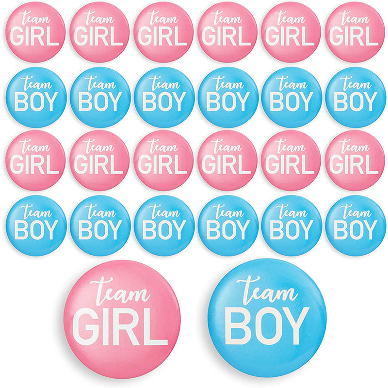Gender Reveal Pins