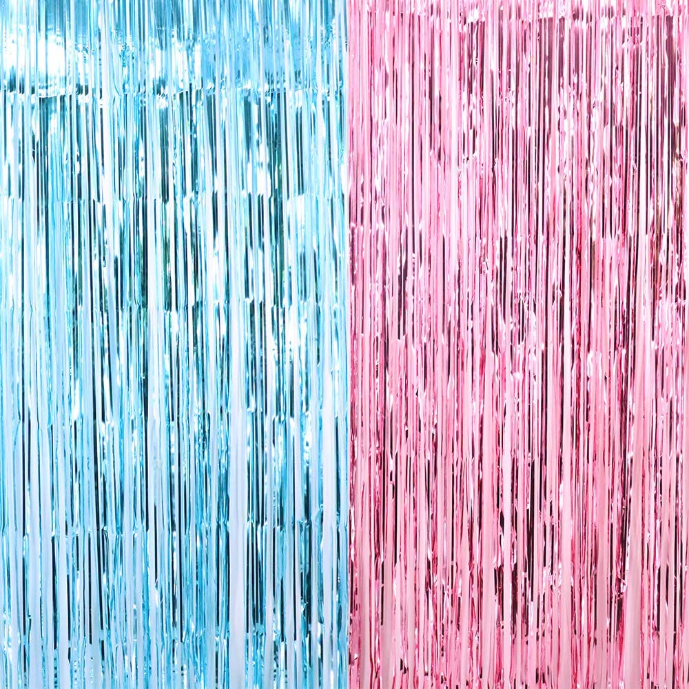 Gender Reveal Curtains