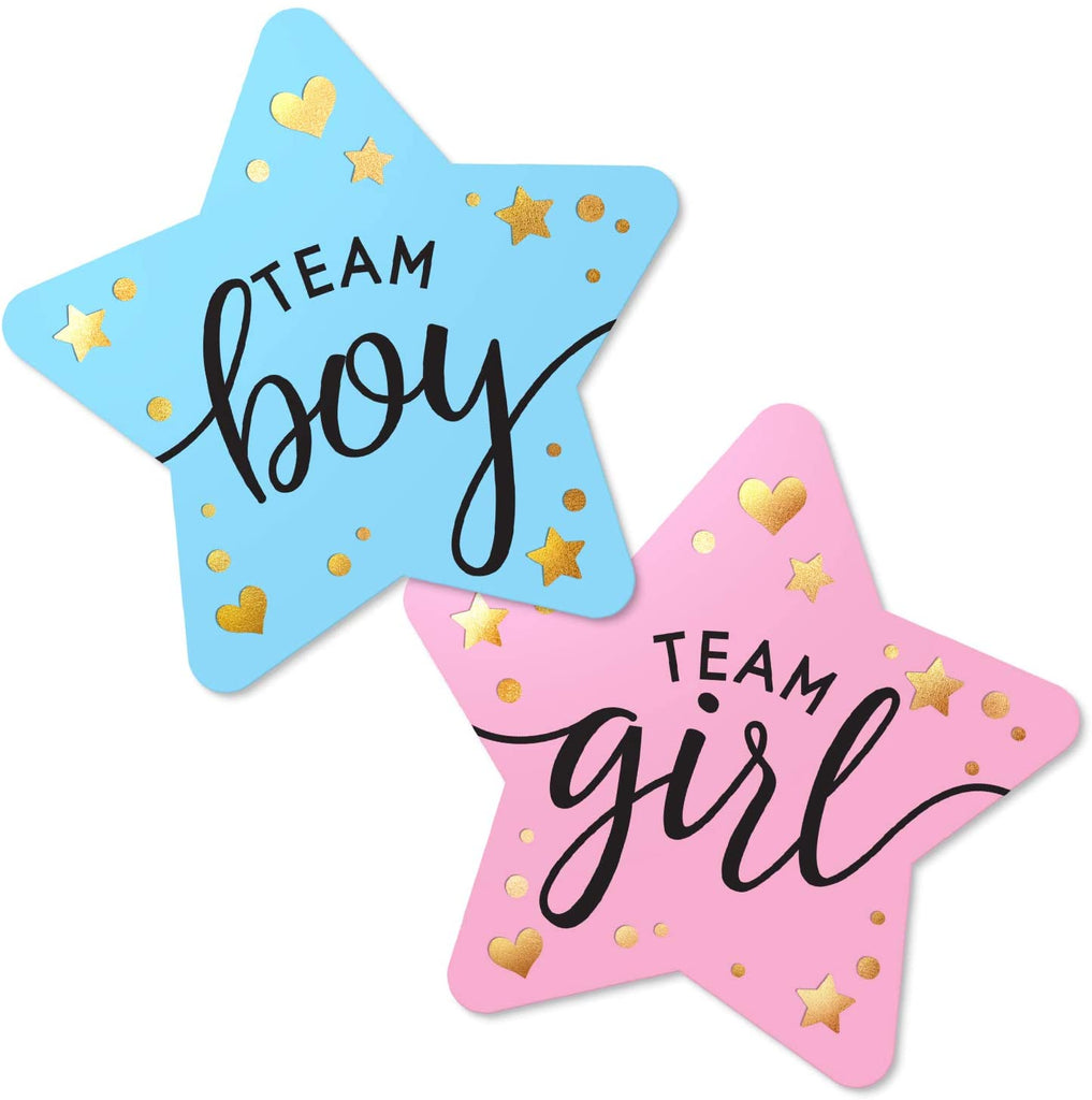 Gender Reveal Stickers