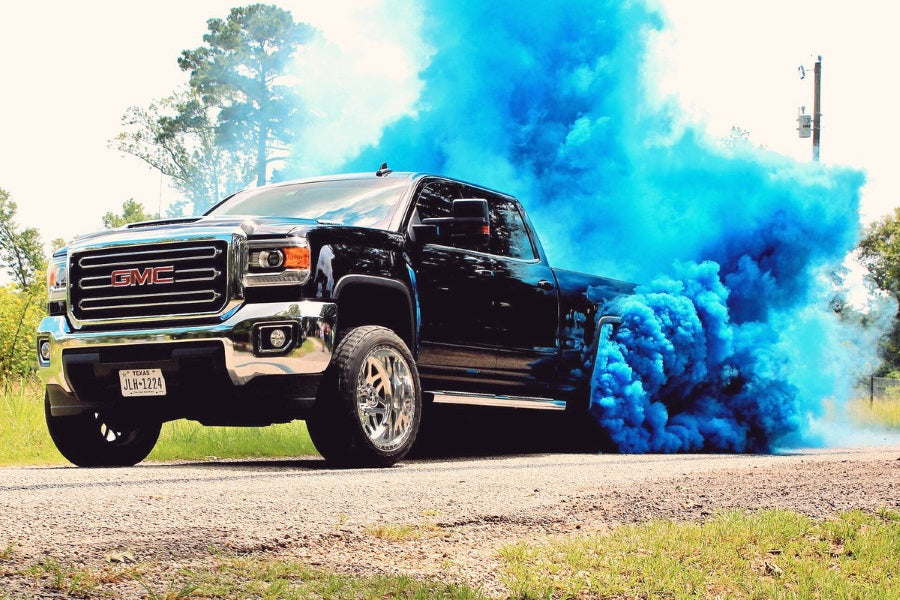 Colored Smoke Tires