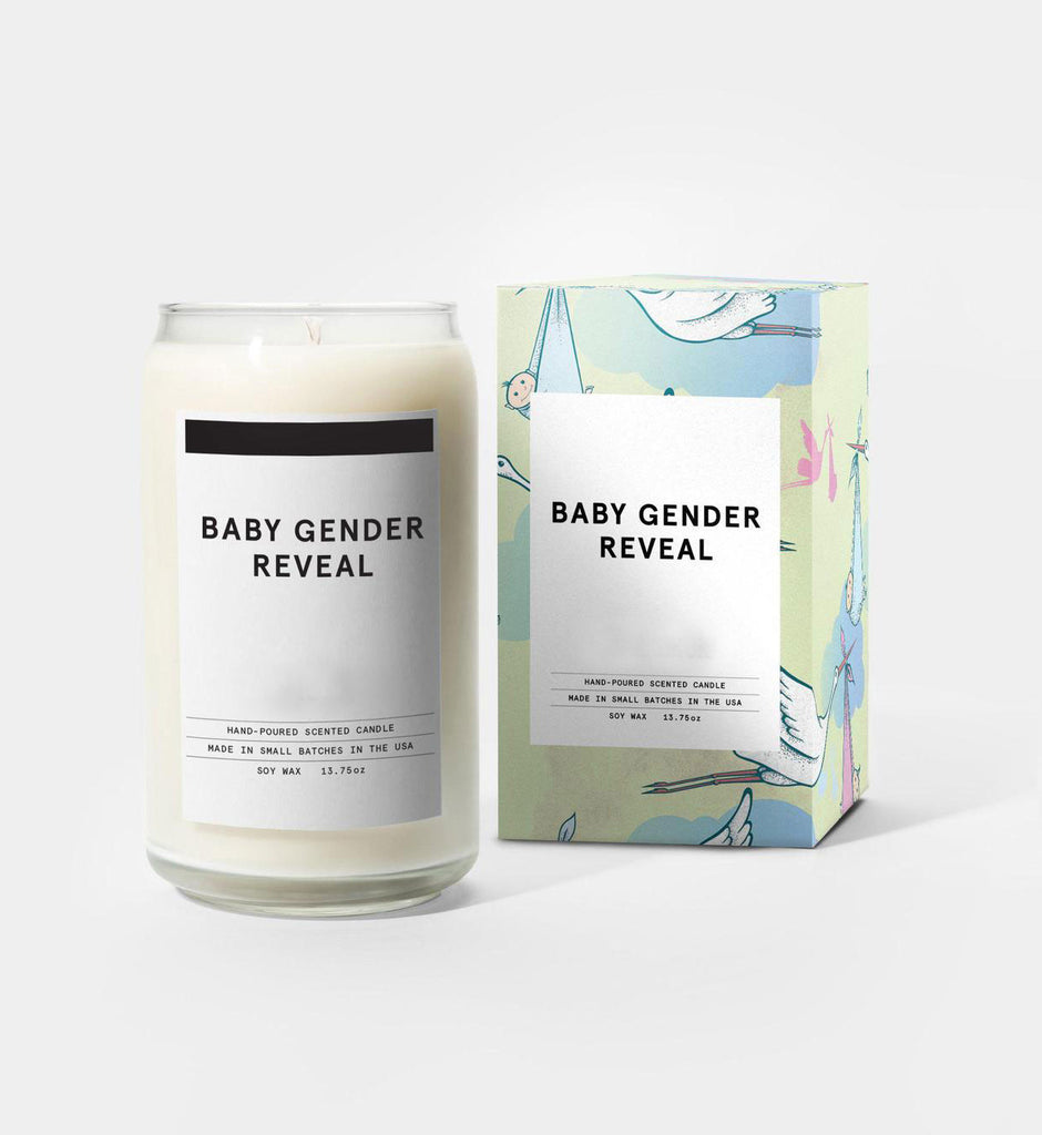 Gender Reveal Candles