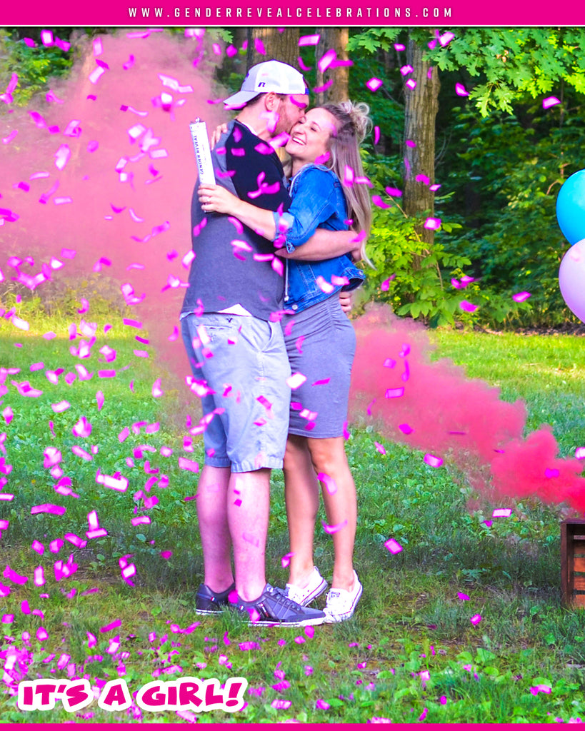 Gender Reveal Confetti Powder