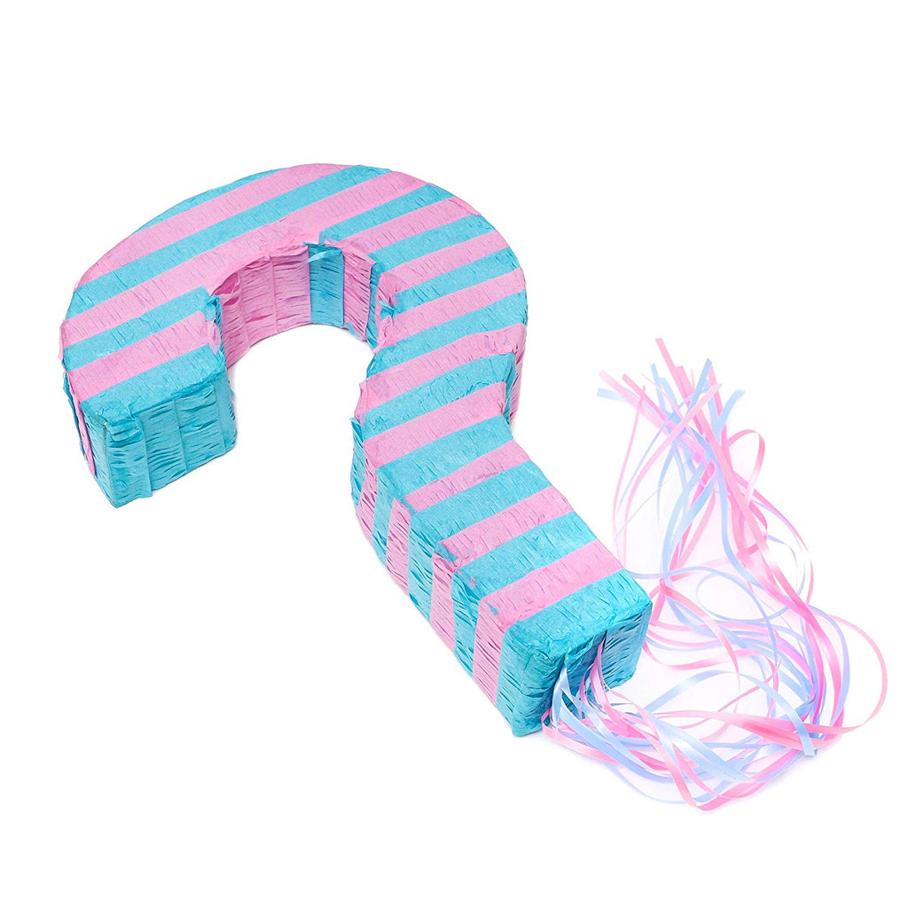 Gender Reveal Pull String Pinata