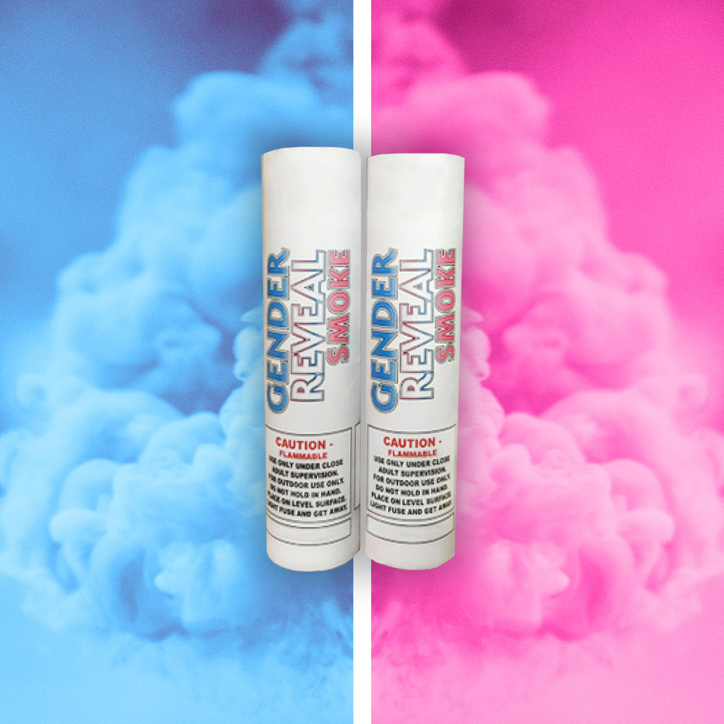 Pink Gender Reveal Smoke Bomb
