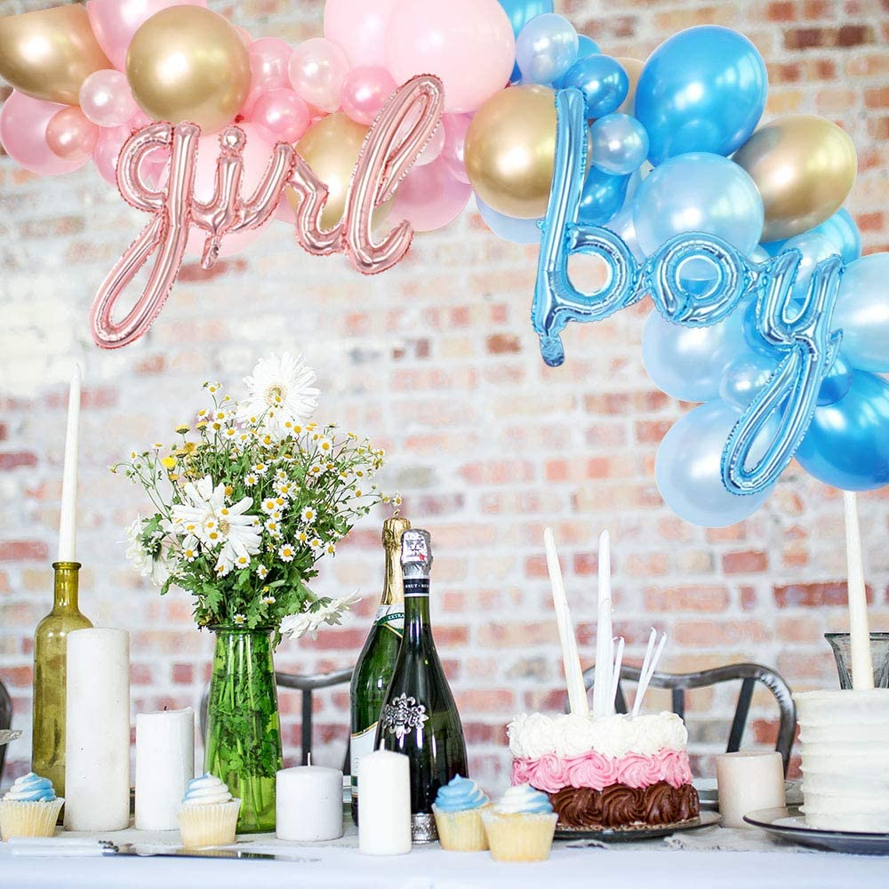 Gender Reveal Boy or Girl Balloons