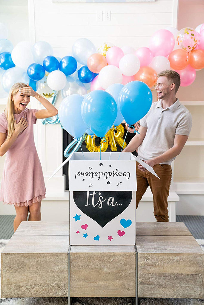 Gender Reveal Gift Box