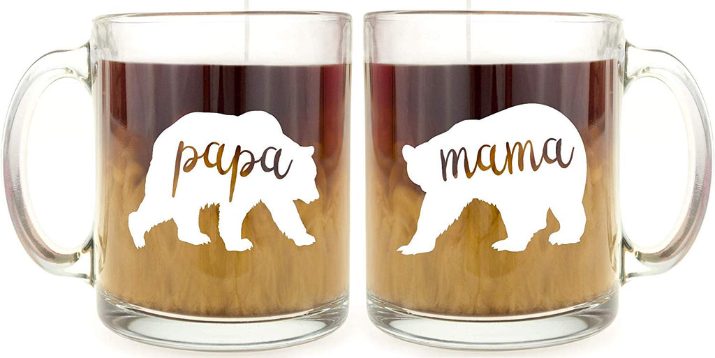 Mom and Dad Coffee Mug Set