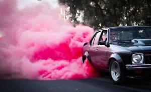 Colored Smoke Tires For Gender Reveal Gender Reveal Celebrations
