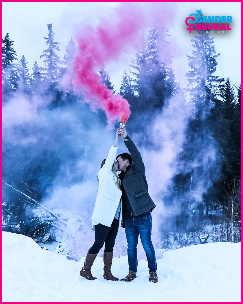 Pink Smoke Gender Reveal