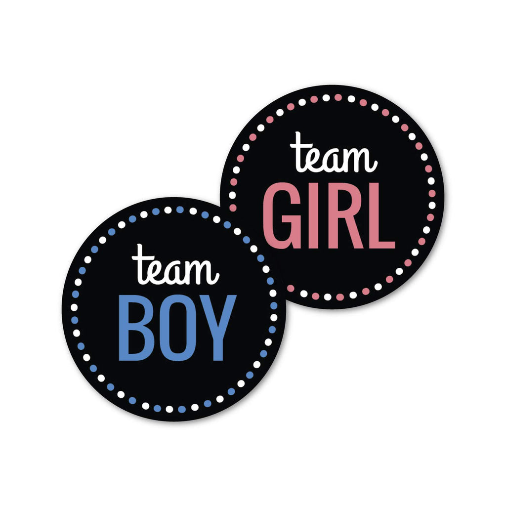 Team Girl Team Boy Sticker