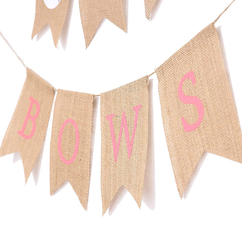 baseball or bows gender reveal decorations