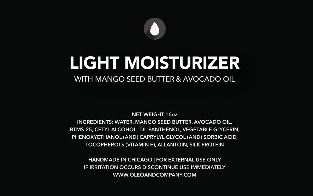 Mango Butter & Avocado Oil - Moisturizer